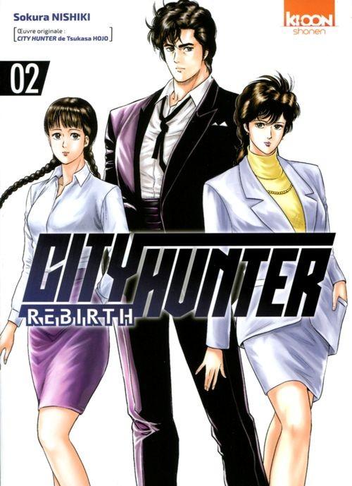 Couverture de City Hunter - Rebirth -2- Tome 2