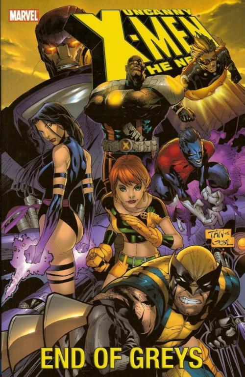 Couverture de Uncanny X-Men (The) (1963) -INT- The New Age Volume 4: End of Greys