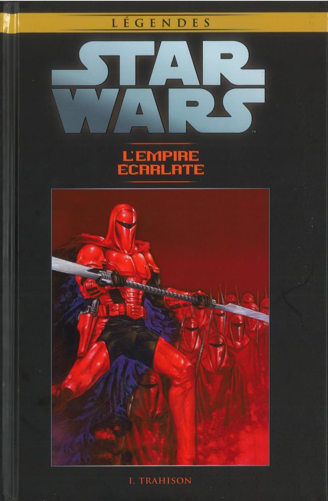 Couverture de Star Wars - Légendes - La Collection (Hachette) -9176- L'Empire Écarlate - I. Trahison