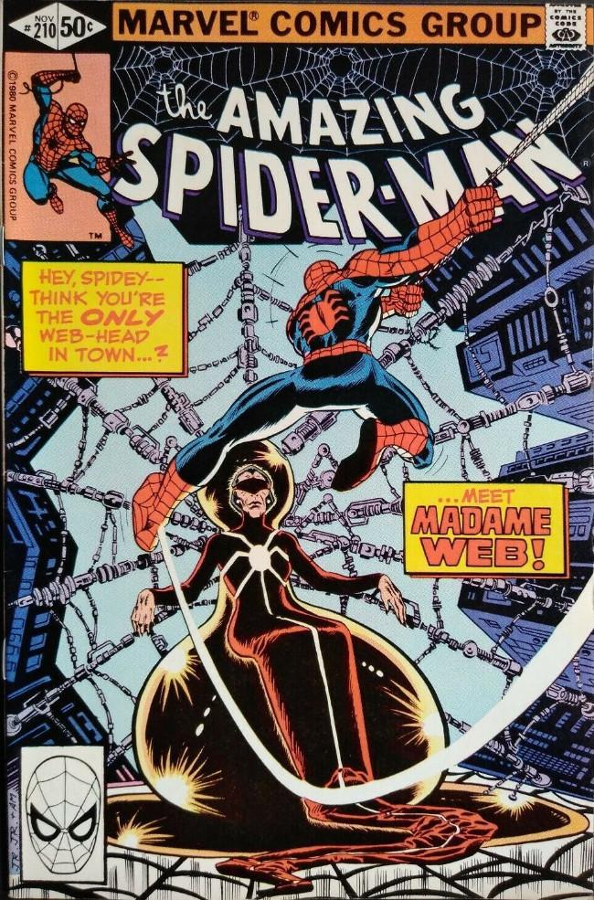 Couverture de The amazing Spider-Man Vol.1 (Marvel comics - 1963) -210- The Prophecy of Madame Web!