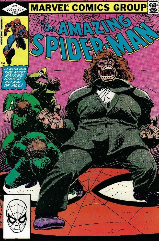 Couverture de The amazing Spider-Man Vol.1 (Marvel comics - 1963) -232- Hyde... In Plain Sight!