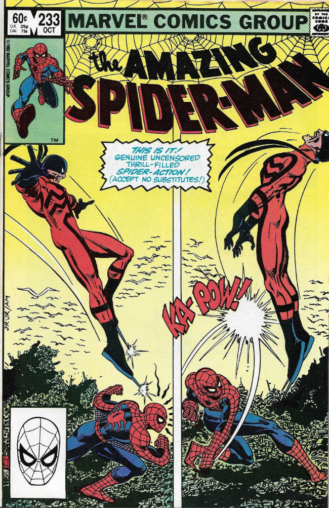 Couverture de The amazing Spider-Man Vol.1 (Marvel comics - 1963) -233- Where the @¢%# Is Nose Norton?