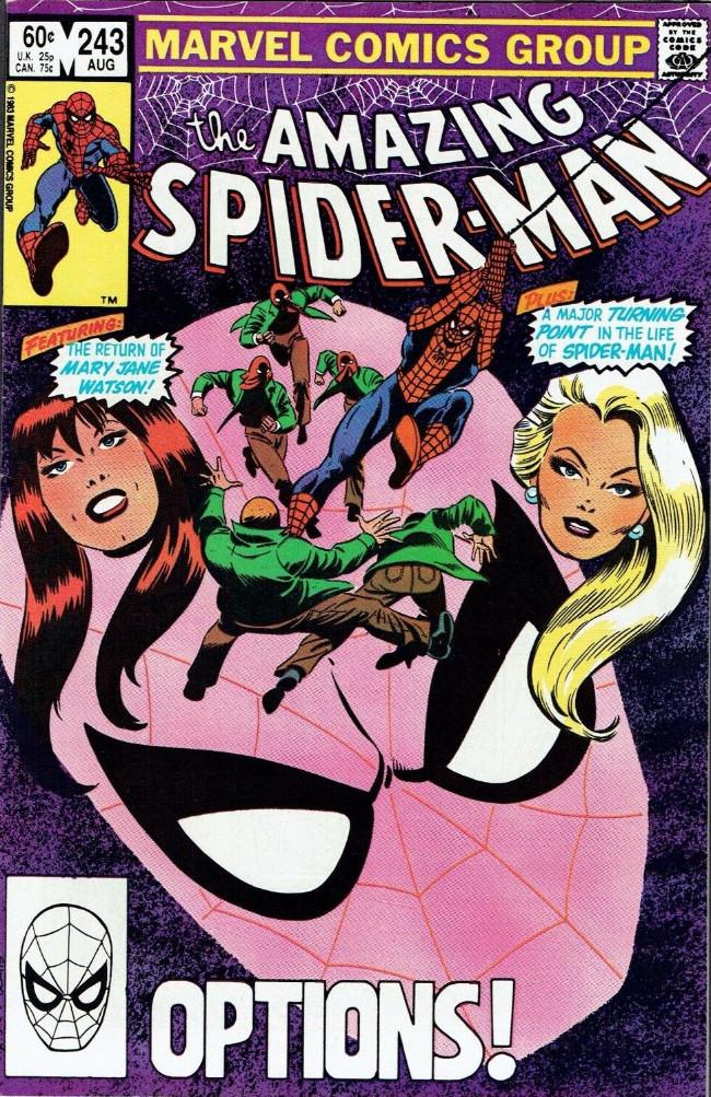 Couverture de The amazing Spider-Man Vol.1 (Marvel comics - 1963) -243- Options!