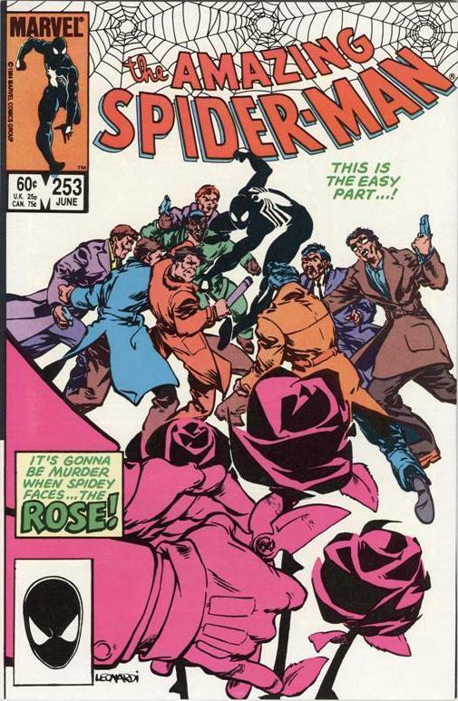 Couverture de The amazing Spider-Man Vol.1 (Marvel comics - 1963) -253- By Myself Betrayed!