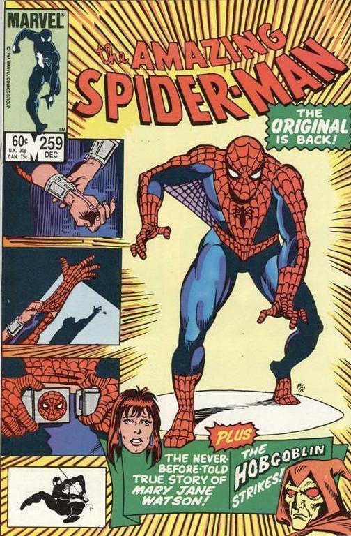Couverture de The amazing Spider-Man Vol.1 (Marvel comics - 1963) -259- The Original is Back!