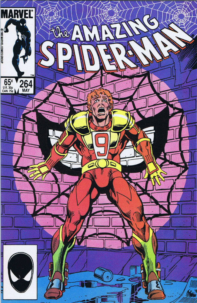 Couverture de The amazing Spider-Man Vol.1 (Marvel comics - 1963) -264- Red 9 and Red Tape!