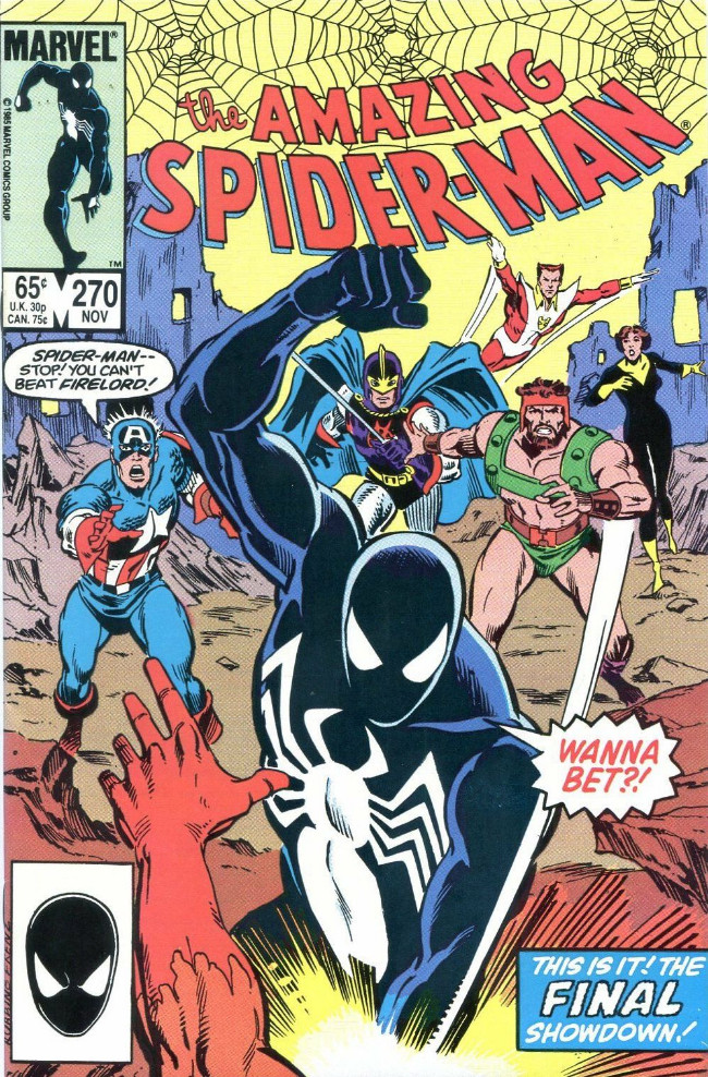 Couverture de The amazing Spider-Man Vol.1 (Marvel comics - 1963) -270- The Hero and the Holocaust!