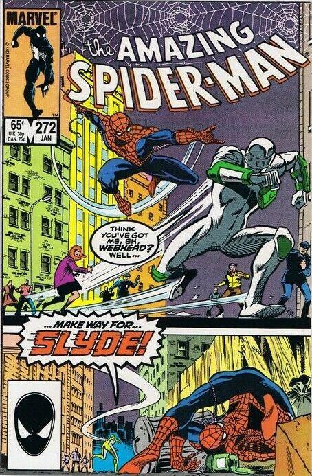 Couverture de The amazing Spider-Man Vol.1 (Marvel comics - 1963) -272- Make Way For... Slyde!