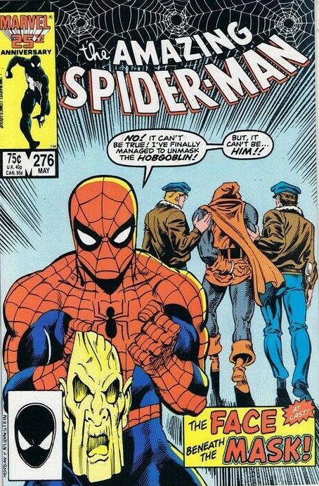 Couverture de The amazing Spider-Man Vol.1 (Marvel comics - 1963) -276- The Face Beneath the Mask!