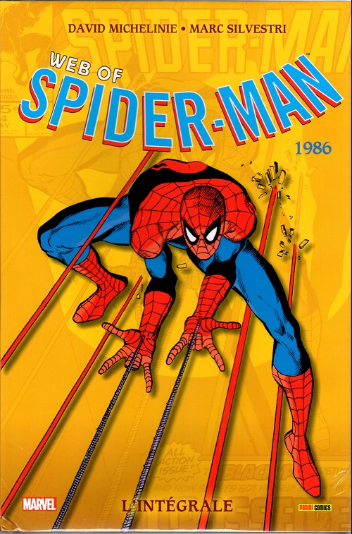 Couverture de Web of Spider-man (l'intégrale) -2- 1986