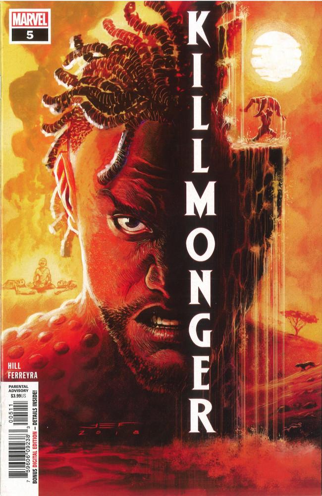 Couverture de Killmonger -5- Part 5