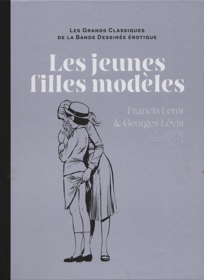 Couverture de Les grands Classiques de la Bande Dessinée érotique - La Collection -8083- Les jeunes filles modèles