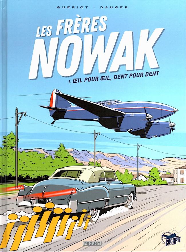 Couverture de Les frères Nowak -1- Œil pour œil, dent pour dent