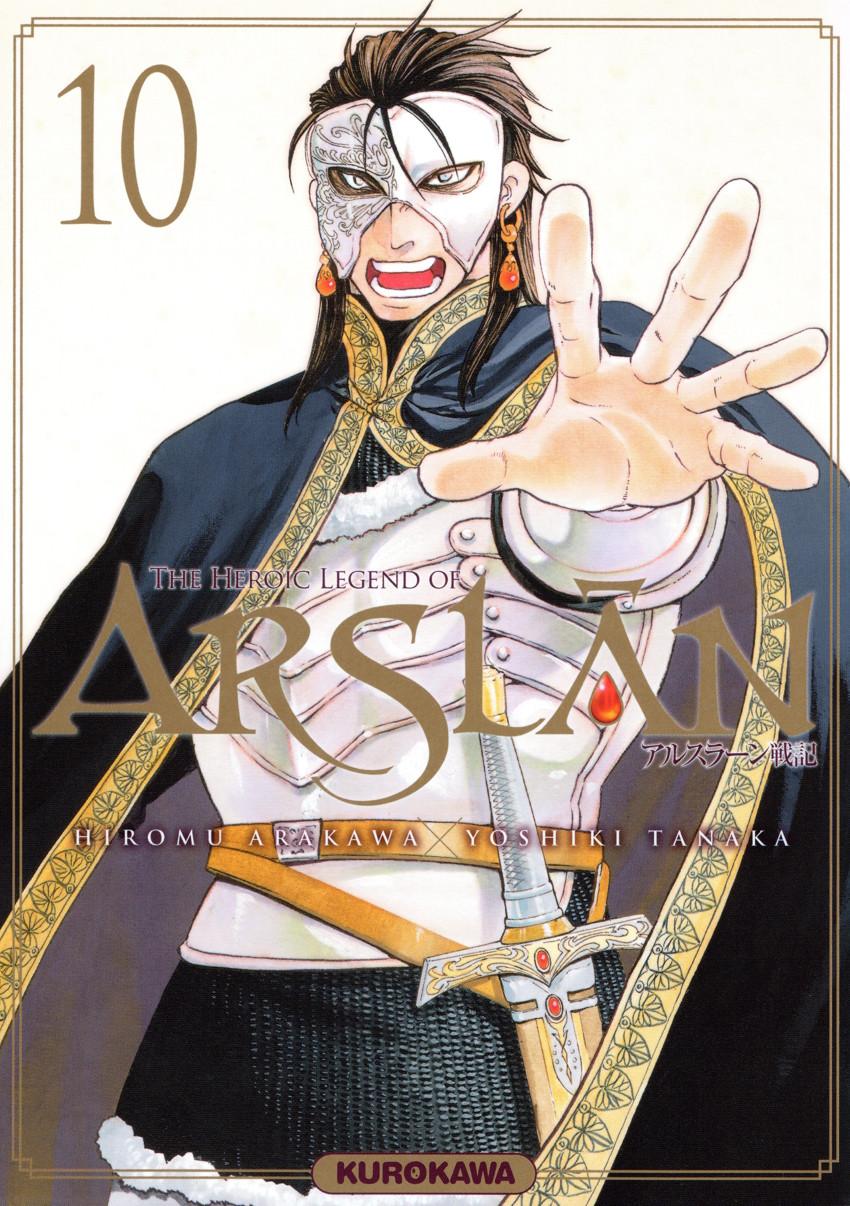 Couverture de Arslân (The Heroic Legend of) -10- The Heroic Legend of Arslân - 10