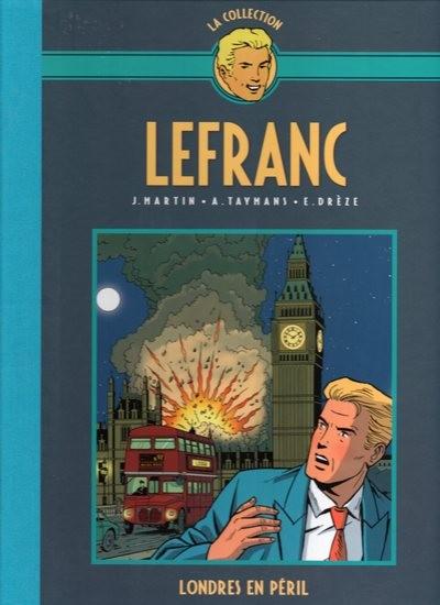 Couverture de Lefranc - La Collection (Hachette) -19- Londres en péril
