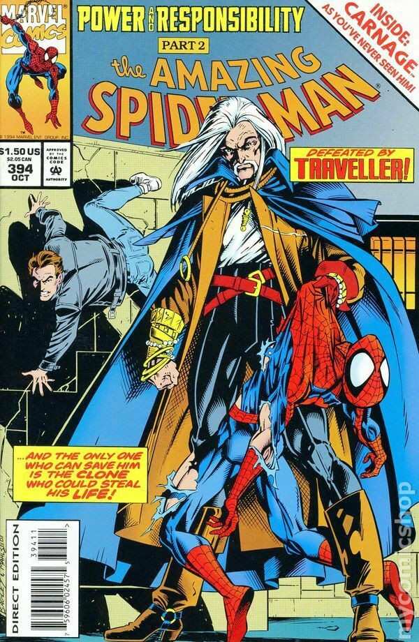 Couverture de Amazing Spider-Man (The) (1963) -394- Power and Responsibility Part 2