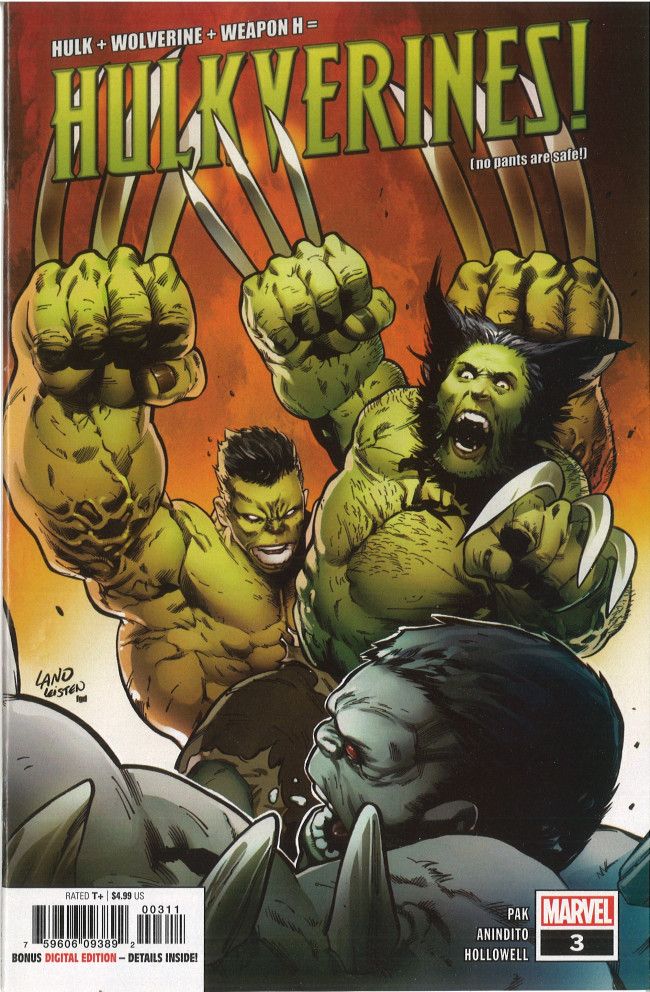 Couverture de Hulkverines (2019) -3- Issue #3