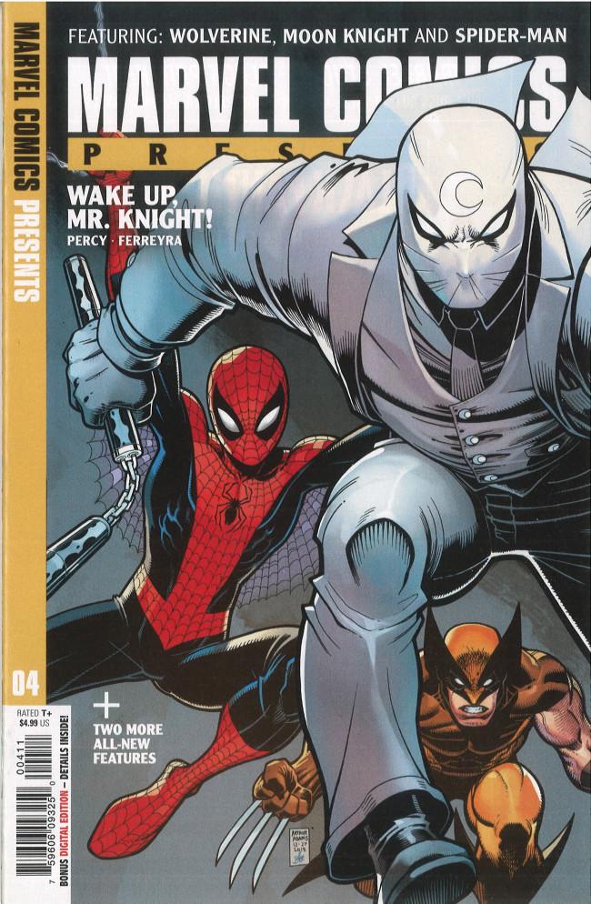 Couverture de Marvel Comics Presents (2019) -4- Wolverine: The Vigil Part 4
