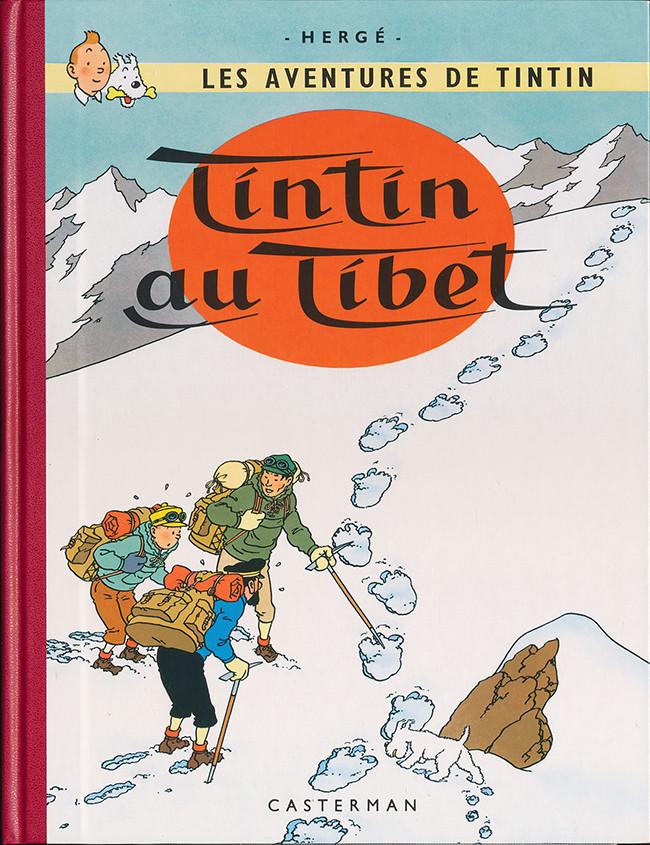Couverture de Tintin (Fac-similé couleurs) -20- Tintin au Tibet
