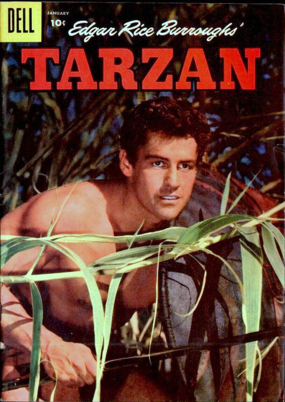 Couverture de Tarzan (Dell - 1948) -88- (sans titre)