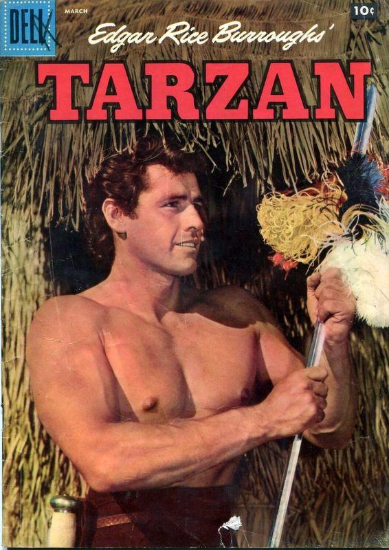 Couverture de Tarzan (Dell - 1948) -90- (sans titre)