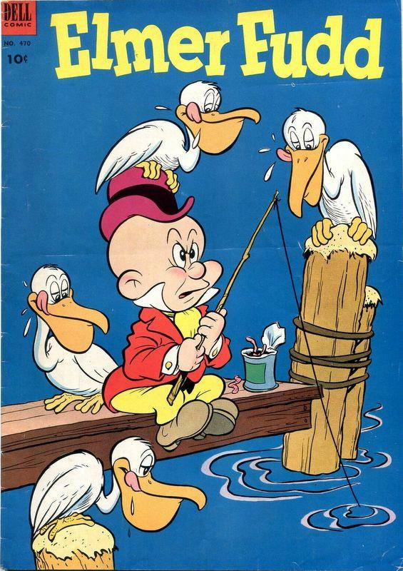 Couverture de Four Color Comics (Dell - 1942) -470- Elmer Fudd
