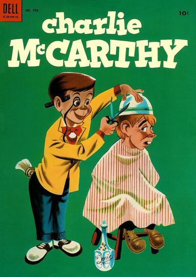 Couverture de Four Color Comics (Dell - 1942) -478- Charlie McCarthy