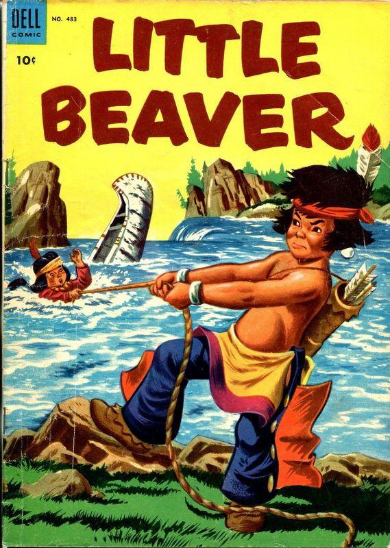 Couverture de Four Color Comics (Dell - 1942) -483- Little Beaver