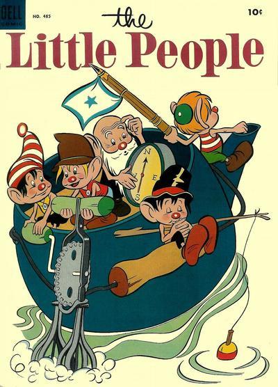 Couverture de Four Color Comics (Dell - 1942) -485- The Little People