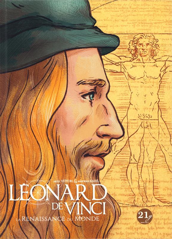 Couverture de Léonard de Vinci - La renaissance du monde