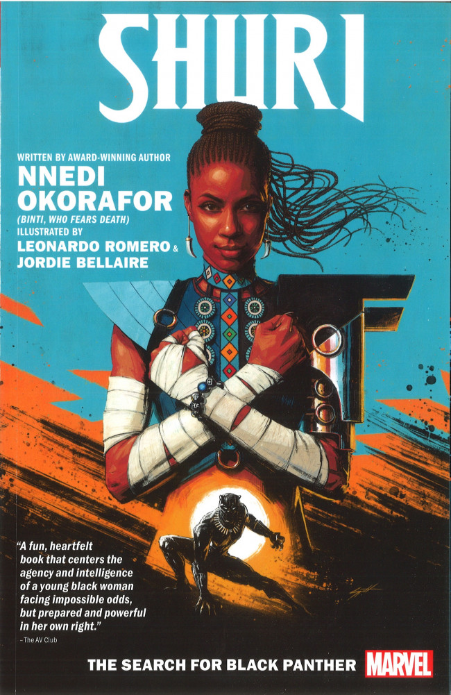 Couverture de Shuri -INT01- The Search for Black Panther
