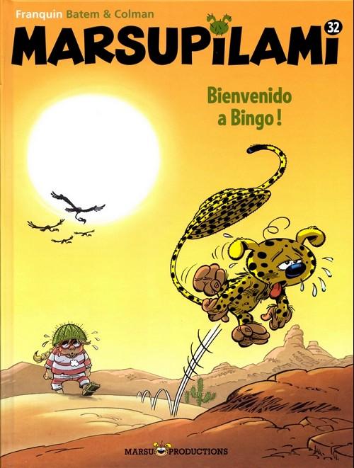 Couverture de Marsupilami -32- Bienvenido a Bingo !