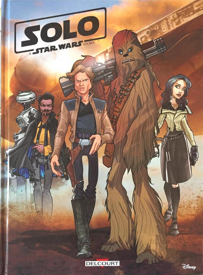 Couverture de Star Wars (Delcourt / Disney) -HS2- Solo - A Star Wars Story
