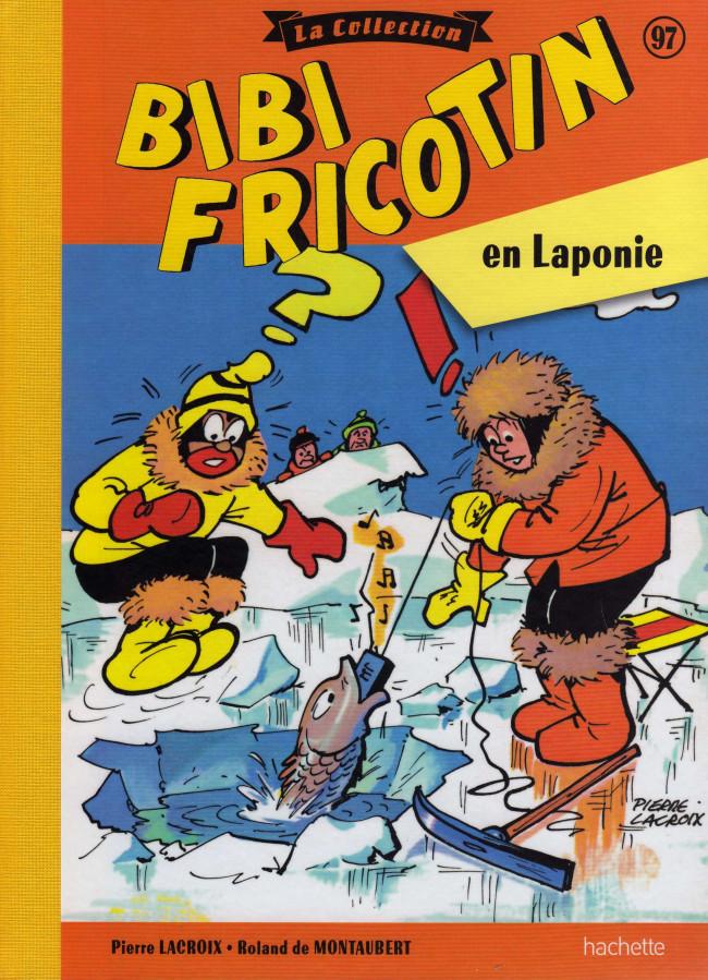 Couverture de Bibi Fricotin (Hachette - la collection) -97- Bibi Fricotin en Laponie