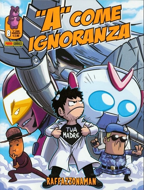 Couverture de A come ignoranza -8- Raffazzonaman