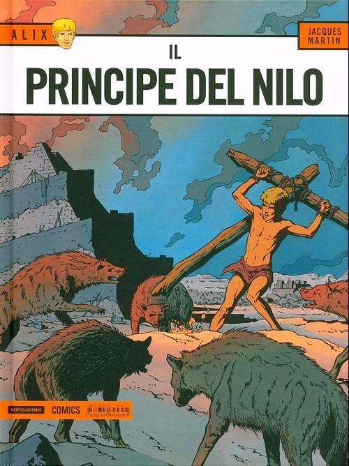 Couverture de Alix (en italien) -11a- Il principe del nilo