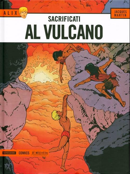Couverture de Alix (en italien) -14- Sacrificati al vulcano