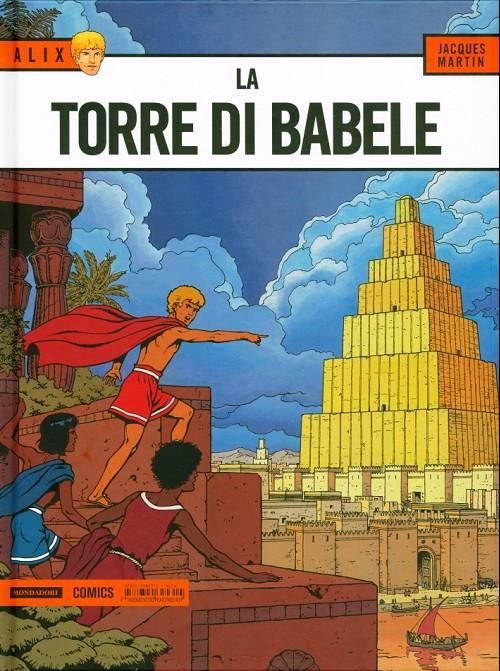 Couverture de Alix (en italien) -16- La torre di babele
