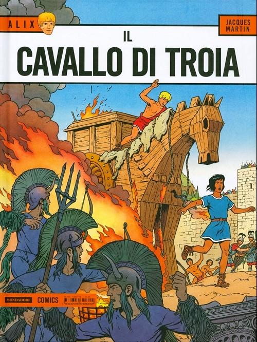 Couverture de Alix (en italien) -19- Il cavallo di troia