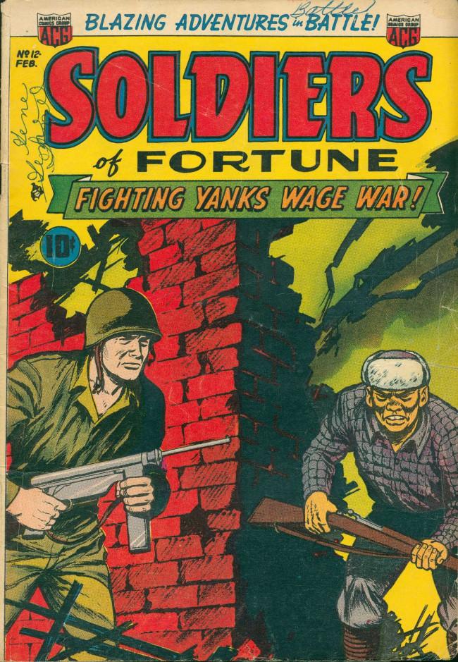Couverture de Soldiers of Fortune (1951) -12- (sans titre)