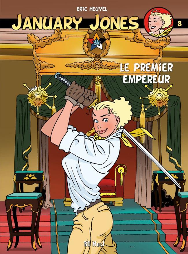 Couverture de Jennifer Jones / January Jones -8TL- Le premier empereur