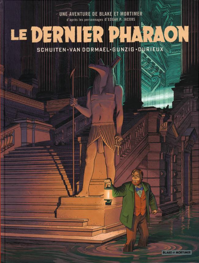 Couverture de Blake et Mortimer (Les Aventures de) -HS3- Le Dernier Pharaon