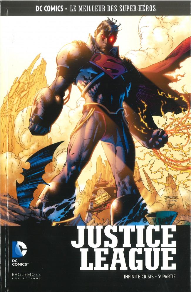 Couverture de DC Comics - Le Meilleur des Super-Héros -HS12- Justice League - Infinite Crisis - 5e partie