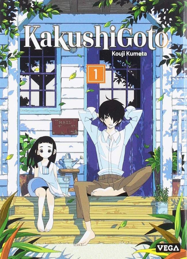 Couverture de Kakushigoto -1- Tome 1