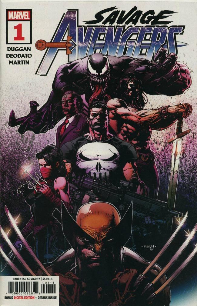 Couverture de Savage Avengers (2019) -1- Issue #1