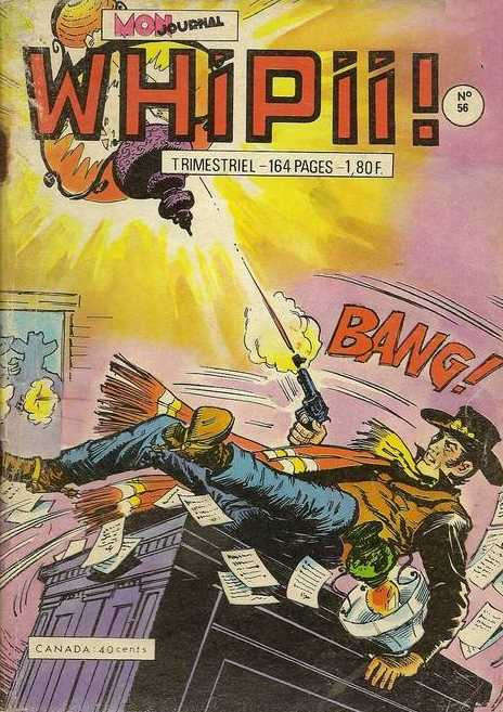 Couverture de Whipii ! (Panter Black, Whipee ! puis) -56- Trahison