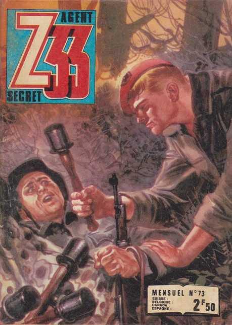 Couverture de Z33 agent secret -73- La ballade des canards noirs