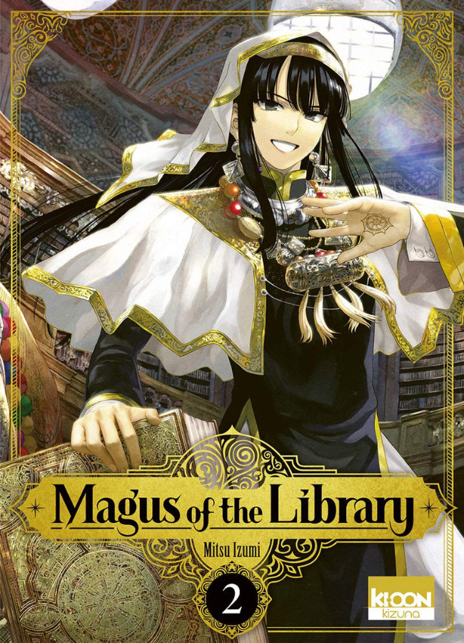Couverture de Magus of the Library -2- Tome 2