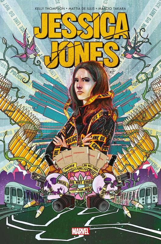 Couverture de Jessica Jones -4- Angle mort