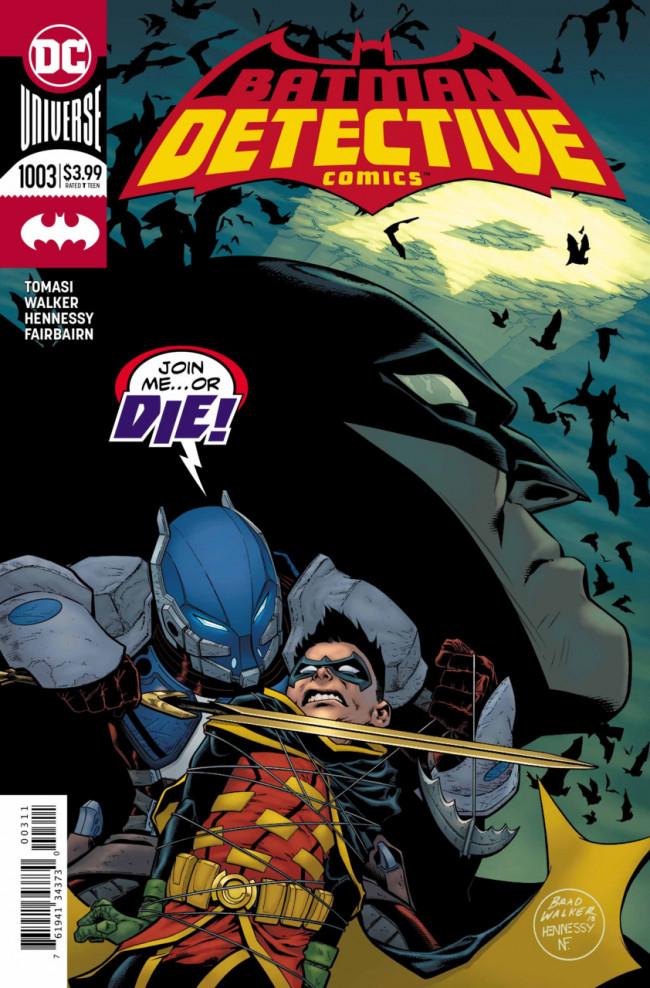 Couverture de Detective Comics (1937), Période Rebirth (2016) -1003- Medieval